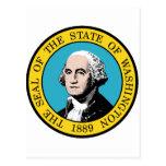 Washington, los E.E.U.U. Postales