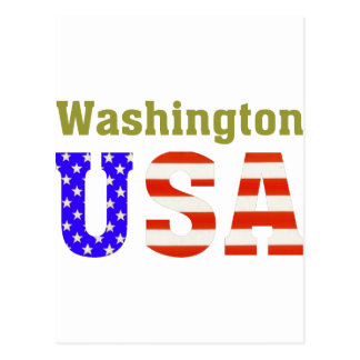 ¡Washington los E.E.U.U.! Postal