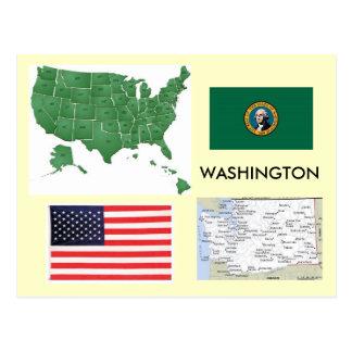Washington, los E.E.U.U. Tarjetas Postales