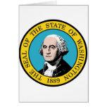 Washington, los E.E.U.U. Tarjeton