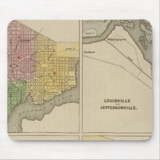 Washington Louisville and Jeffersonville Mouse Pad