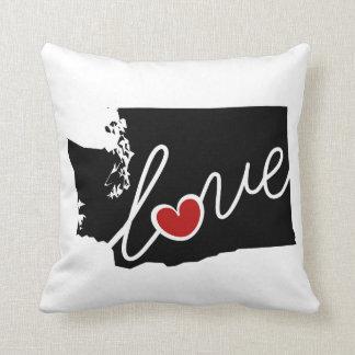 Washington Love!  Gifts for WA Lovers Pillow