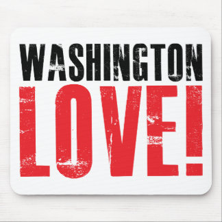 Washington Love Mouse Pad