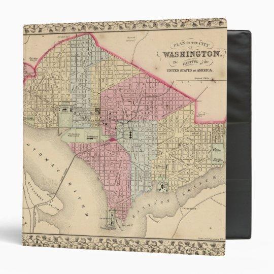 Washington Map by Mitchell Binder
