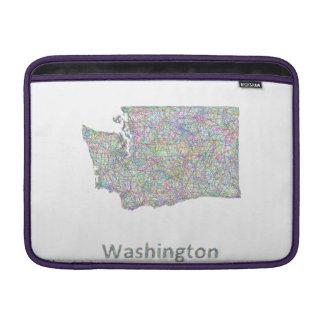 Washington map MacBook air sleeve
