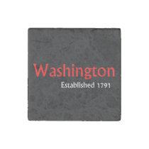 Washington Marble Stone Magnets, Individual Stone Magnet