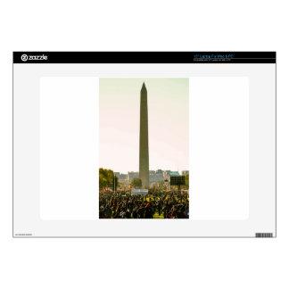 "Washington Monument 15"" Laptop Decal"
