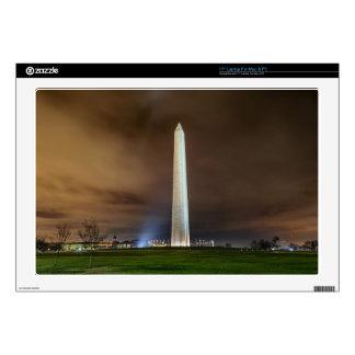 "Washington Monument 17"" Laptop Decal"