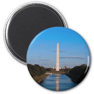 Washington Monument 2 Inch Round Magnet