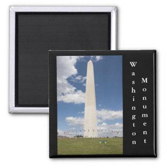 Washington Monument 2 Inch Square Magnet