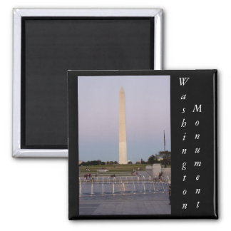 Washington Monument 2 Inch Square Magnet