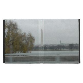 Washington Monument Across The River iPad Folio Covers