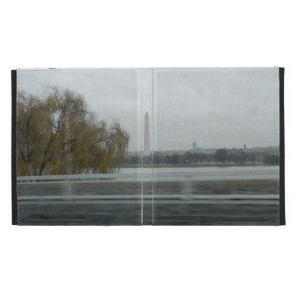 Washington Monument Across The River iPad Folio Cover