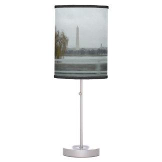 Washington Monument Across The River Table Lamp