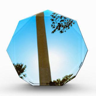 Washington Monument Acrylic Award