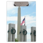 Washington Monument and WWII Memorial in DC Clipboard