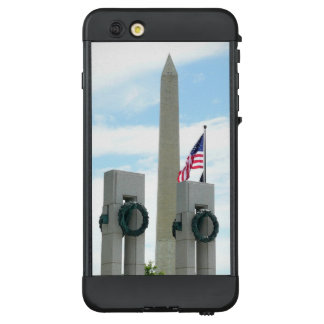 Washington Monument and WWII Memorial in DC LifeProof NÜÜD iPhone 6 Plus Case