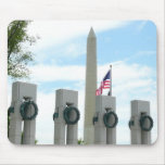 Washington Monument and WWII Memorial in DC Mouse Pad