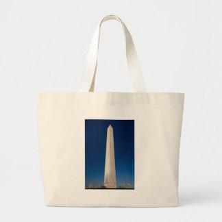Washington Monument at Dusk Bags