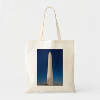 Washington Monument at Dusk Tote Bag