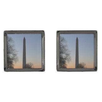 Washington Monument at Sunset Cufflinks