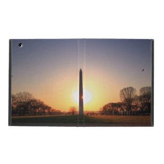 Washington Monument at Sunset iPad Case