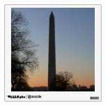 Washington Monument at Sunset Wall Decal
