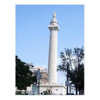 Washington Monument Baltimore Postcard