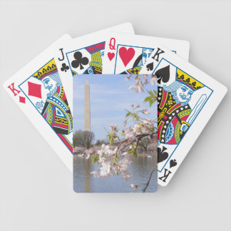 Washington Monument Beautiful Gifts Bicycle Playing Cards