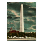 Washington Monument by Night Postcard