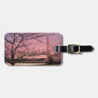 Washington Monument Cherry Blossom Festival Bag Tag