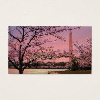 Washington Monument Cherry Blossom Festival Business Card