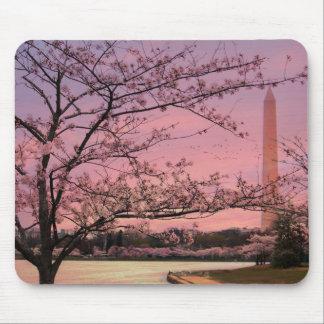 Washington Monument Cherry Blossom Festival Mouse Pad