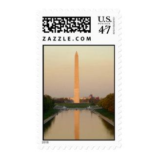 Washington Monument DC Postage Stamp