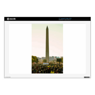 """Washington Monument Decals For 17"""" Laptops"""