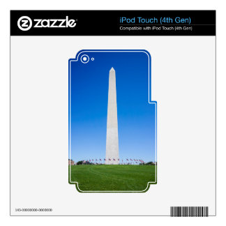 Washington Monument Decals For iPod Touch 4G