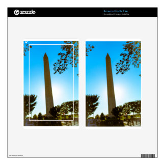 Washington Monument Decals For Kindle Fire