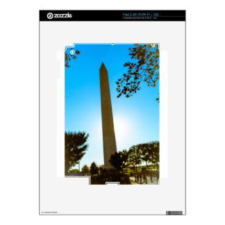 Washington Monument Decals For The iPad 2