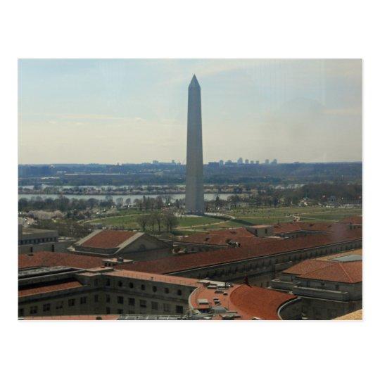 Washington Monument Federal Triangle 002 Postcard
