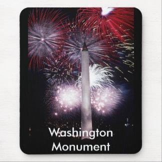 Washington Monument Fireworks Mouse Pad
