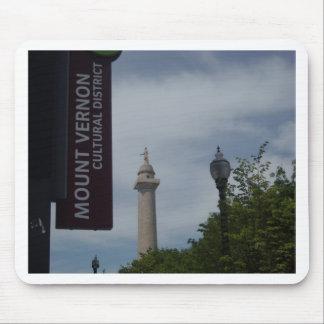 Washington Monument In Mount Vernon Baltimore Mouse Pad