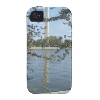 Washington Monument in Spring iPhone 4 Case
