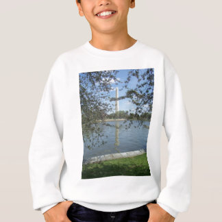 Washington Monument in Spring Sweatshirt