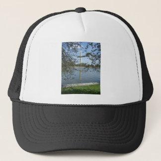 Washington Monument in Spring Trucker Hat