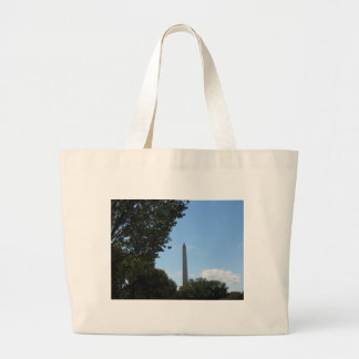 Washington Monument Large Tote Bag
