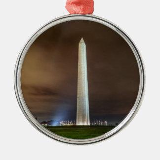 Washington Monument Metal Ornament