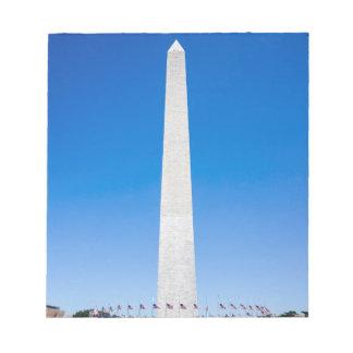 Washington Monument Notepad