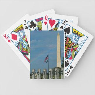 Washington Monument Playing Cards