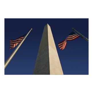 Washington Monument Print print