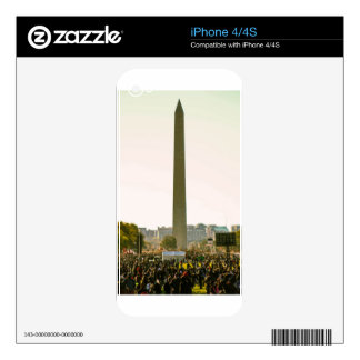 Washington Monument Skin For The iPhone 4